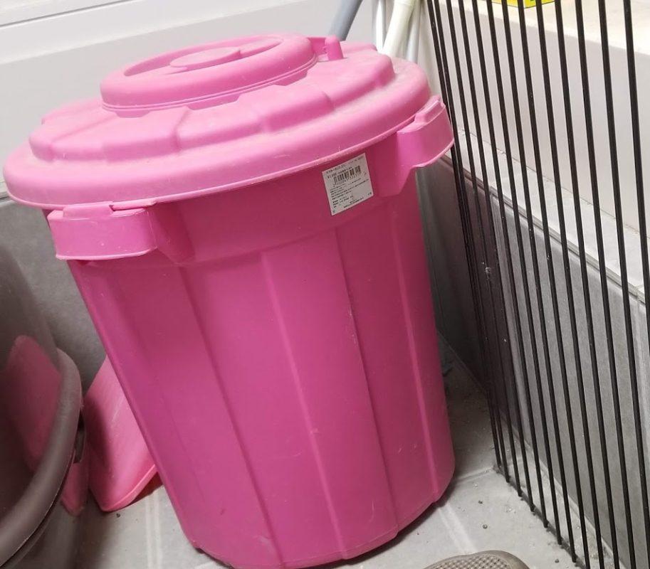 ゴミ箱が一瞬で無臭に…