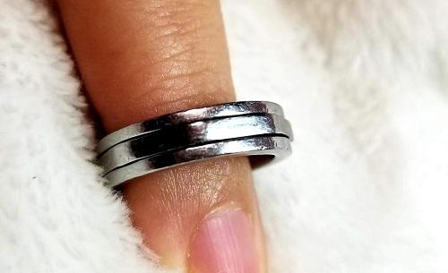 タングステンの指輪