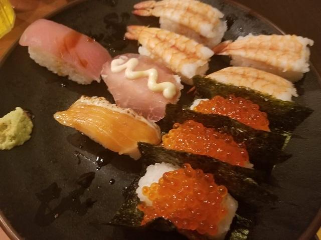 お寿司も美味しい!